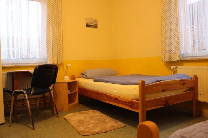 Bett im Seemannsheim