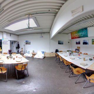 Ein Bild von den Räumen der starterkitchen in Kiel im Wissenschaftspark