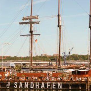 Café Sandhafen in Kiel